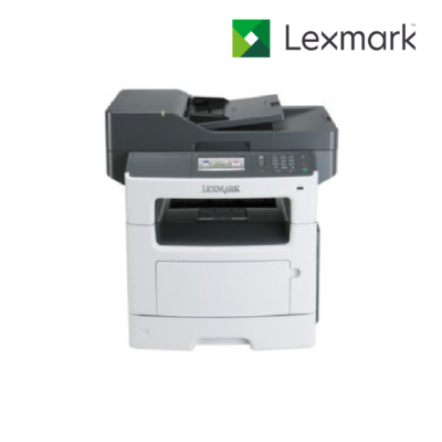 Multifuncional Láser Lexmark MX511de – 42ppm Monocromático – USB – Ethernet – Dúplex – Gris/Negro